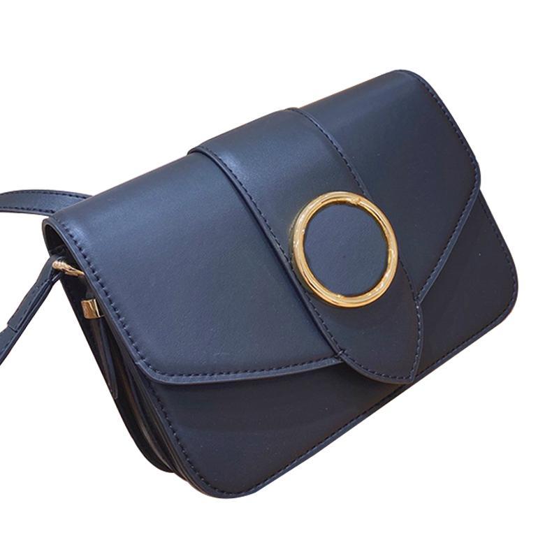 New Crossbody Bag Purse Bag pequeno Mulheres Shoulder Messenger Bags couro Oil Retro elegantes sacos de moda de alta qualidade Praça saco preto Type6