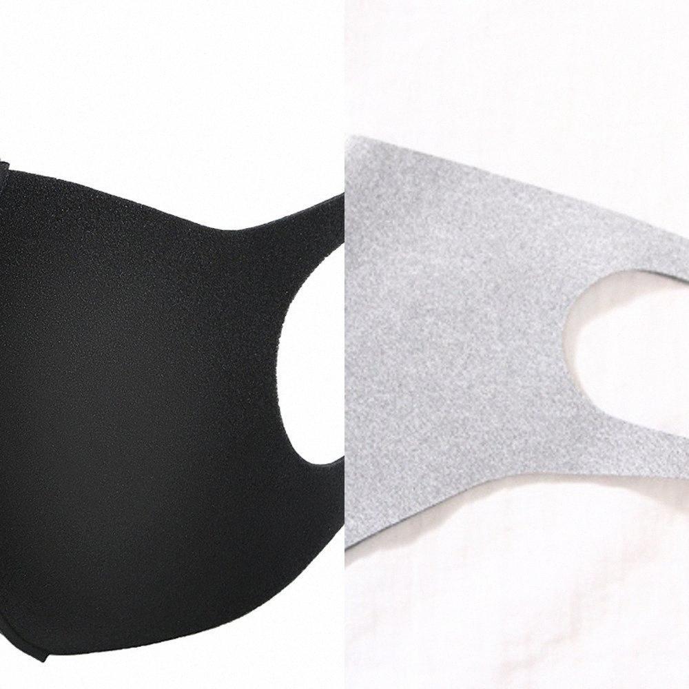 Visage Enfants 100 Pcs adulte Masque anti-poussière bouche couverture masque anti-poussière PM2,5 Anti-bactérien lavable réutilisable Evoi #