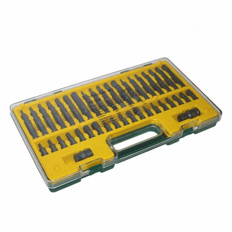 40 Pcs Torx Estrela Hex Bits soquete Set S2 liga de aço Auto Repair Bits conjunto de soquete Set-30 XDAS #