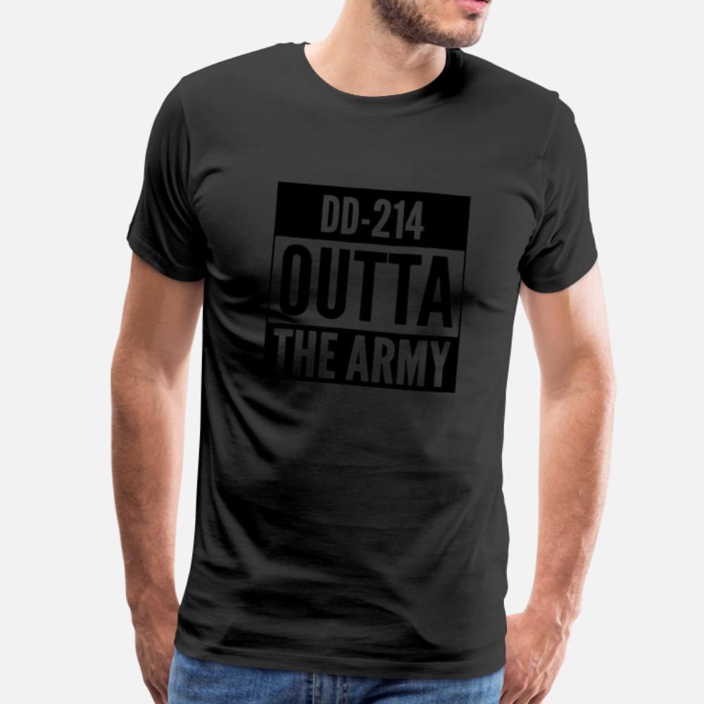 Us Army shirt do veterano aposentado DD214 camiseta homens orgulhosos Projetando 100% algodão Euro Tamanho S-3xl Família Interessante camisa Letters Humor verão