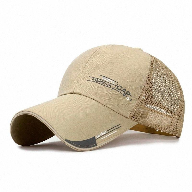 casquette de baseball 2020 chapeaux d'été unisexe hommes femmes maille casquette de baseball réglable chapeaux de soleil extérieur Trucker Chapeau Sport Hip-hop cap # F20 # 6 g2QO #