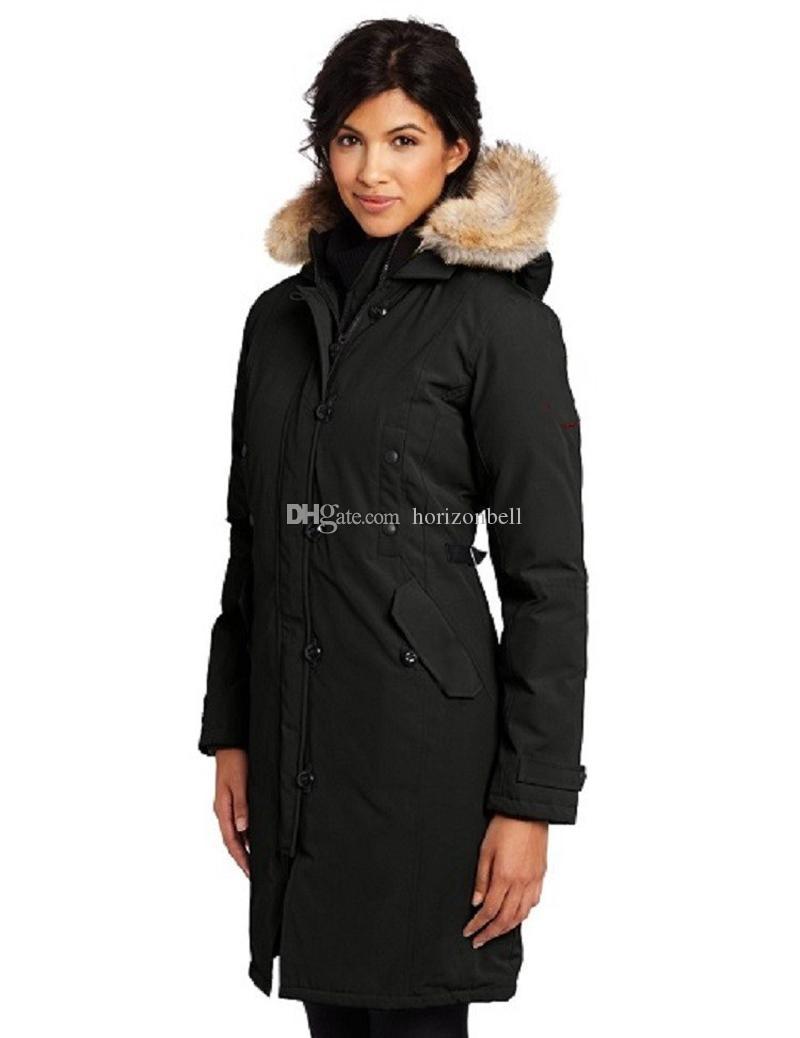 2020 nuovo progettista donne giù giacca lunga caldo giù cappotti da donna all'aperto Giacca piuma d'oca inverno Outwear Silm Giacche Parka XS-XL