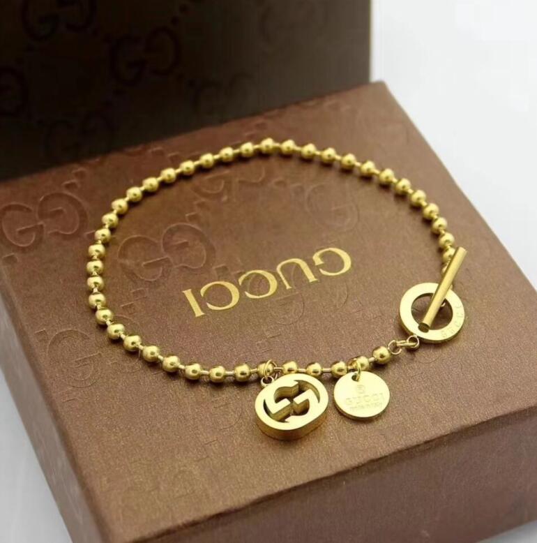 designer di gioielli di lusso bracciali donne V marca signore classico fascino del braccialetto Braccialetto Gucci braccialetto Pulseira de luxo