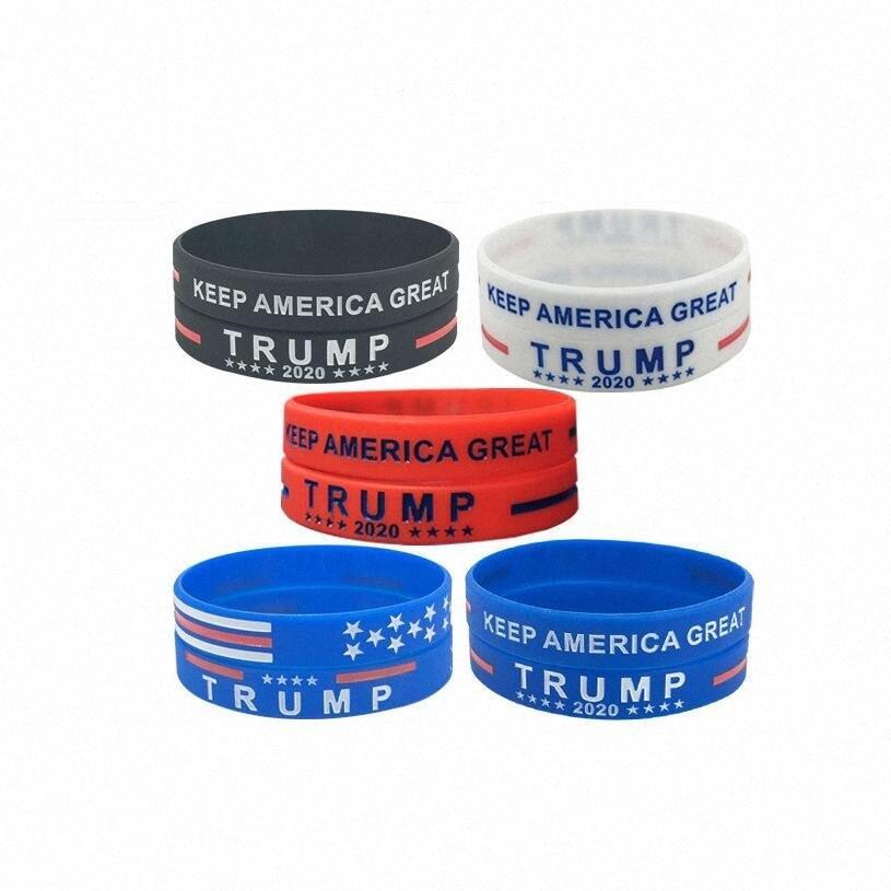 Donald Trump 2020 Silikon Bileklik tutun Amerika Büyük Bileklik ABD Genel Seçim Bileklik Biden Silikon Bileklik Çocuk Takı CCA12 tn6M #