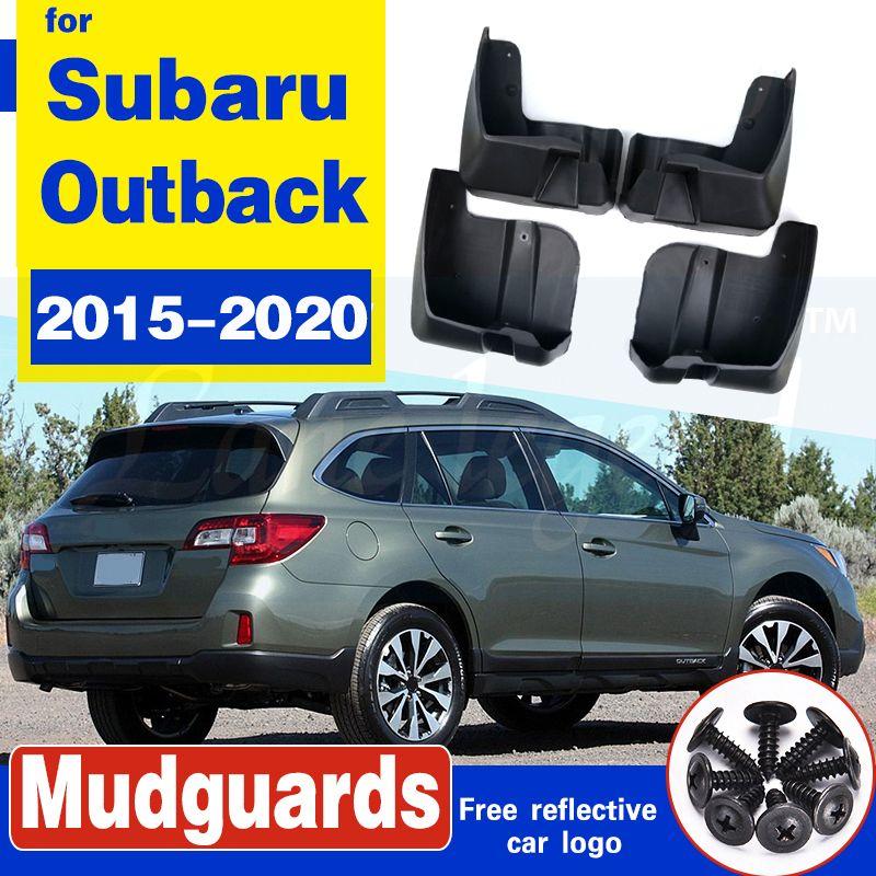 Set Auto-Schmutzfängern für Subaru Outback 2015-2020 Mudflaps Spritzschutz Schmutzfänger Kotflügel Kotflügel vorn hinten Styling 2016 2017