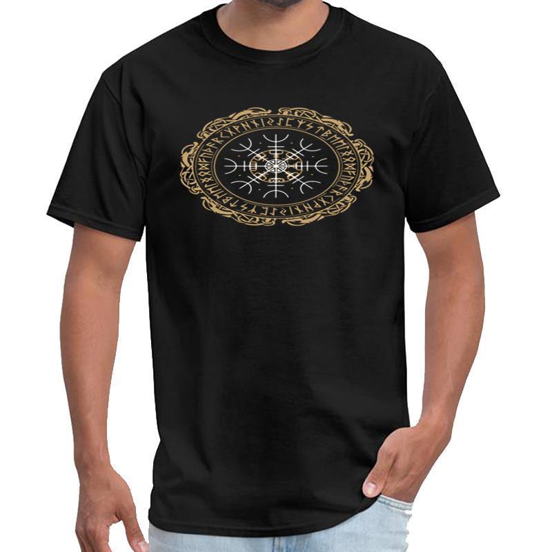 Personalizado Nordic Viking Símbolo Vegvisir Nordic Compass camisa da ciência t mulheres stargate camiseta mais tamanhos s-5XL tee topos