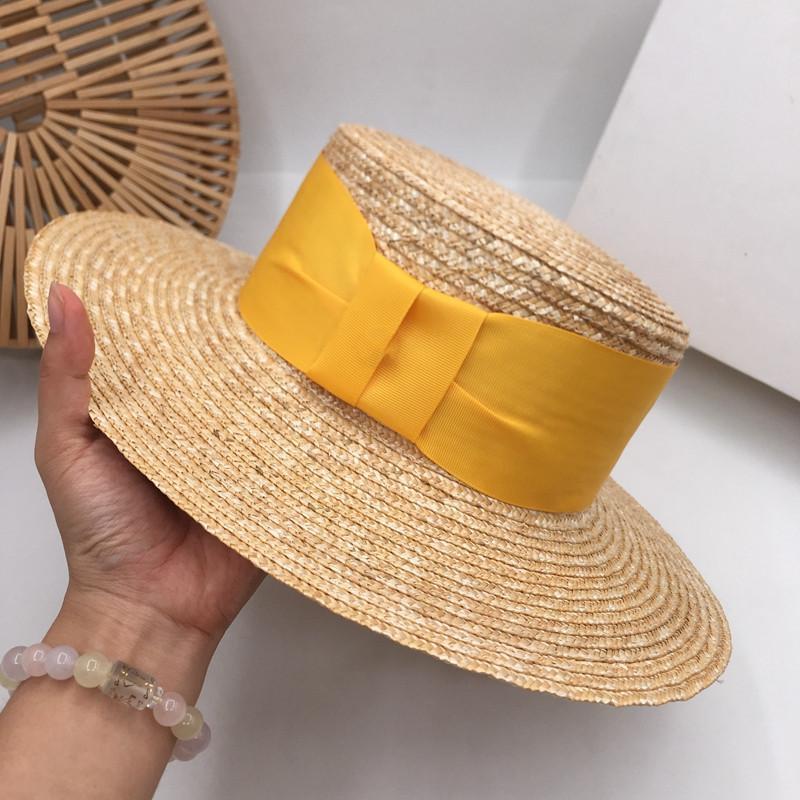 Nouvelle paille de soleil mer femelle ins édition han vent chapeau de soleil costume de farceur mode