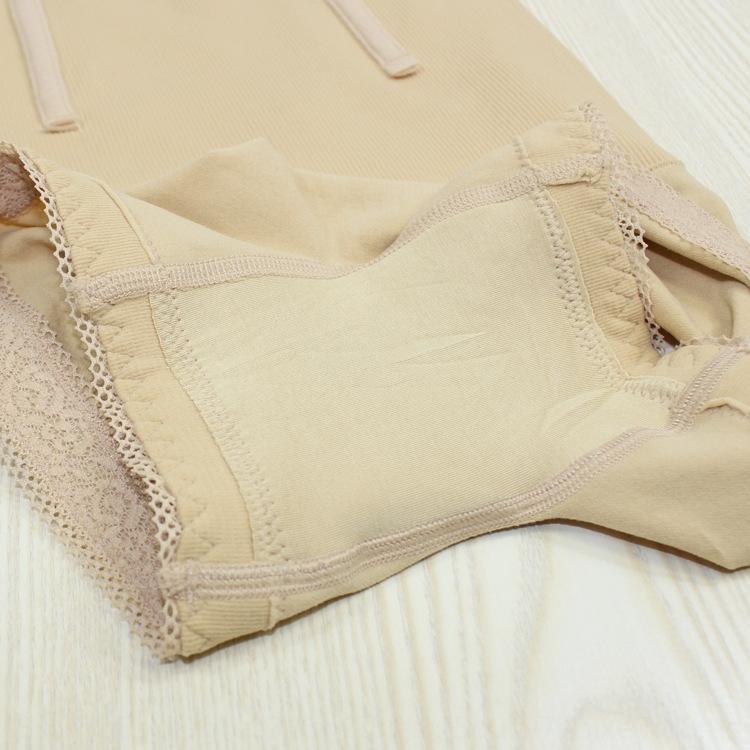 h5jaH taille haute bas vers le haut de l'abdomen de corset shou wei boxeur dentelle shou fu ku pantalons de mise en forme de fuite pantalon PP mise en forme boxers lift de la hanche en haut