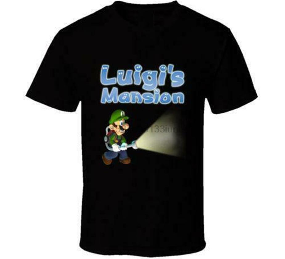 Nuova Luigi Mansion Super Mario Bros T Shirt Mens molti colori regalo di nuovo da noi Classic Custom Design Tee Shirt