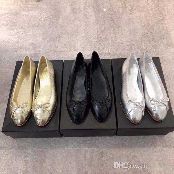 2020 sapatos de couro sapatos com fivela Marca Moda feminina uma variedade de chinelos estilo Ladies Flats Casual 35-42 xnLouboutinCL CDF