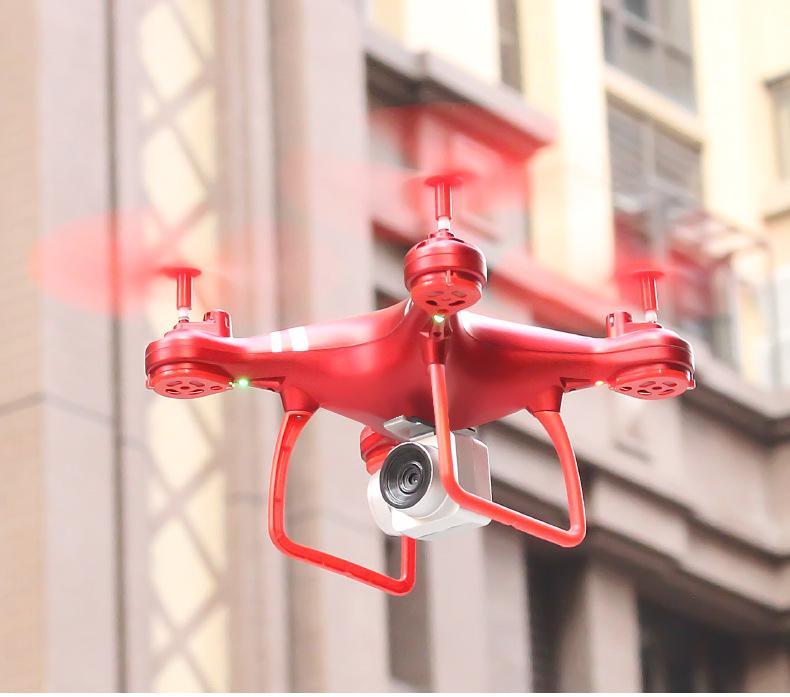 HDRC H15 UAV 실시간 공중 RC 드론 공기 압력 고정 높이 원격 제어 헬리콥터 쿼드 콥터 4 축 항공기