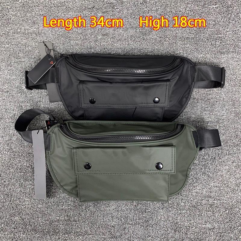 Street causal sac épaule classique brodé nouvelle sortie sport de la taille style cyberpunk brand hketj