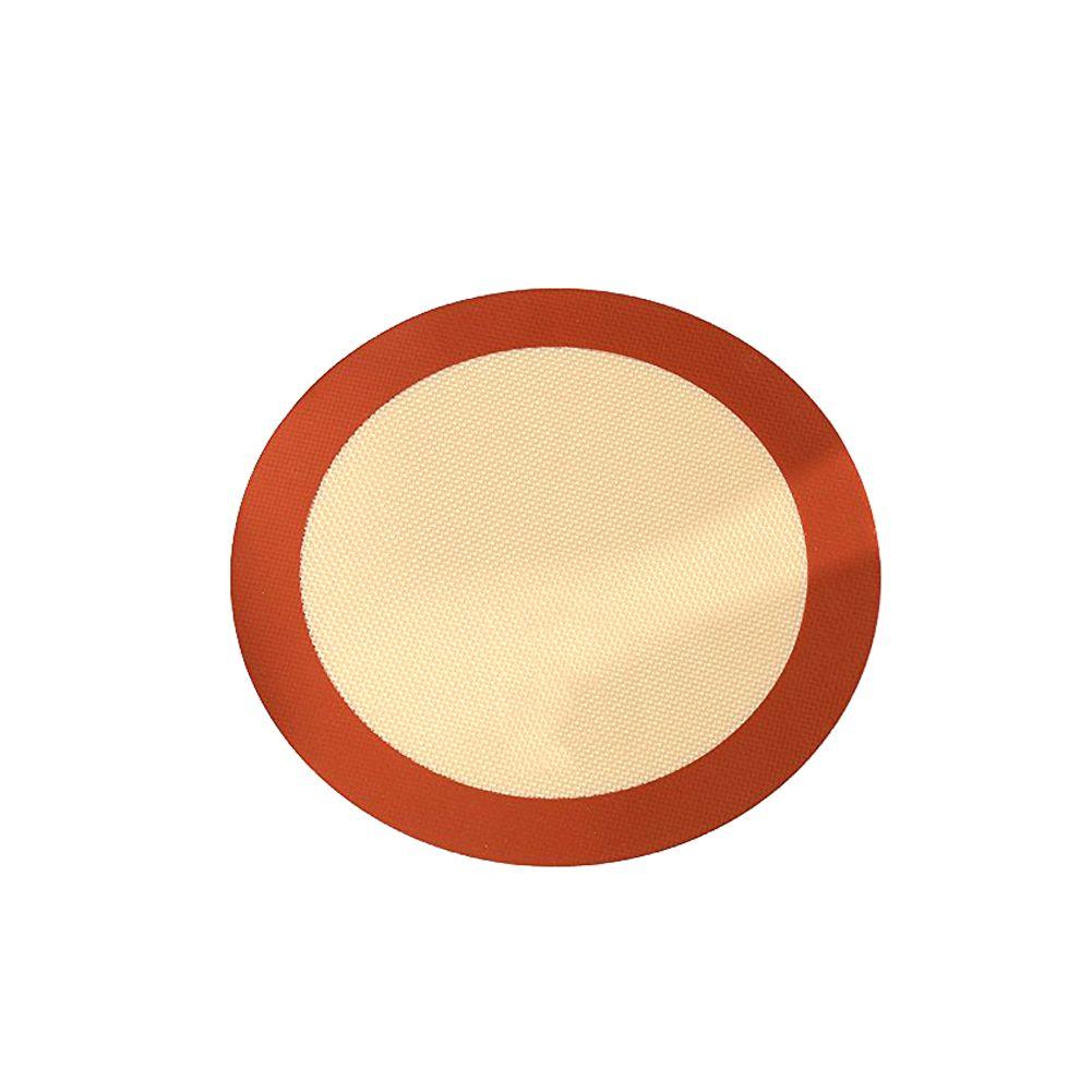 9 pouces cuisine cuisson Tapis professionnel Accueil Non Stick alimentaire ronde silicone