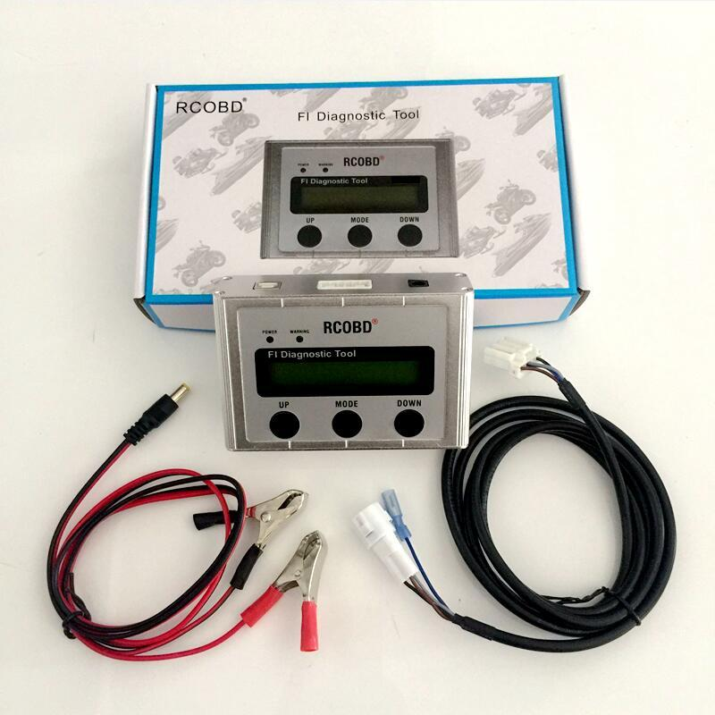 New Box for Motor scanner Handheld motorcycle repair for Yamaha motorbike diagnostic tool easy to use