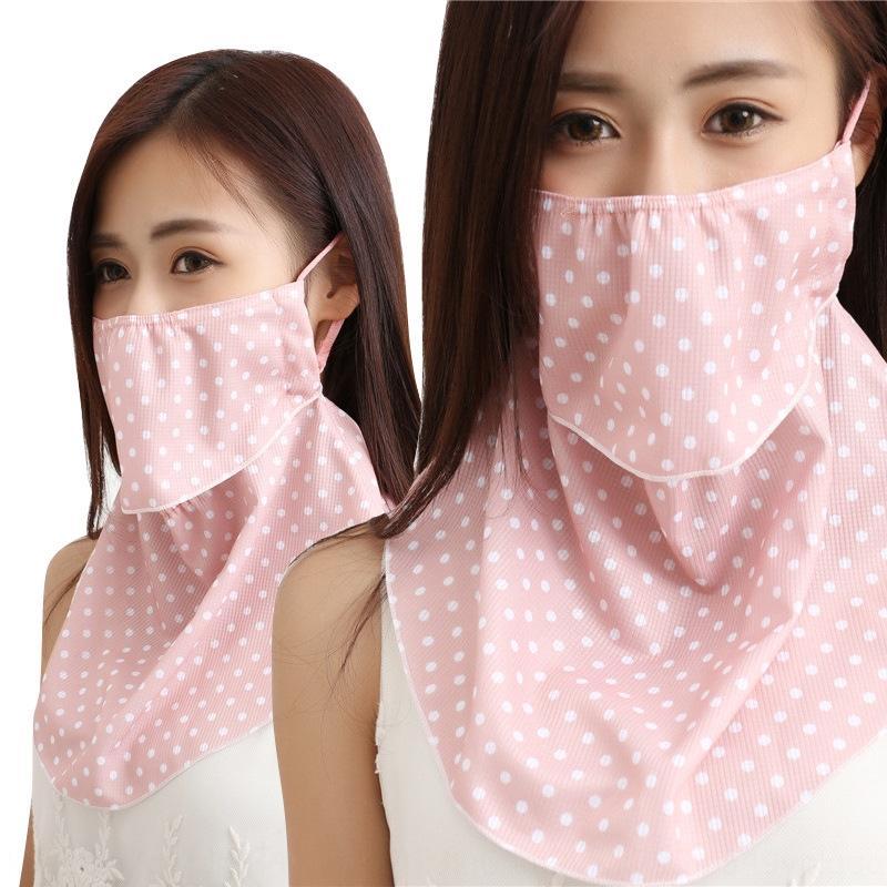 Novo anti-neblina pescoço inteligente facial chiffon filtro solar UV proteção criativo New anti-neblina máscara facial inteligente pescoço chiffon filtro solar UV protectio