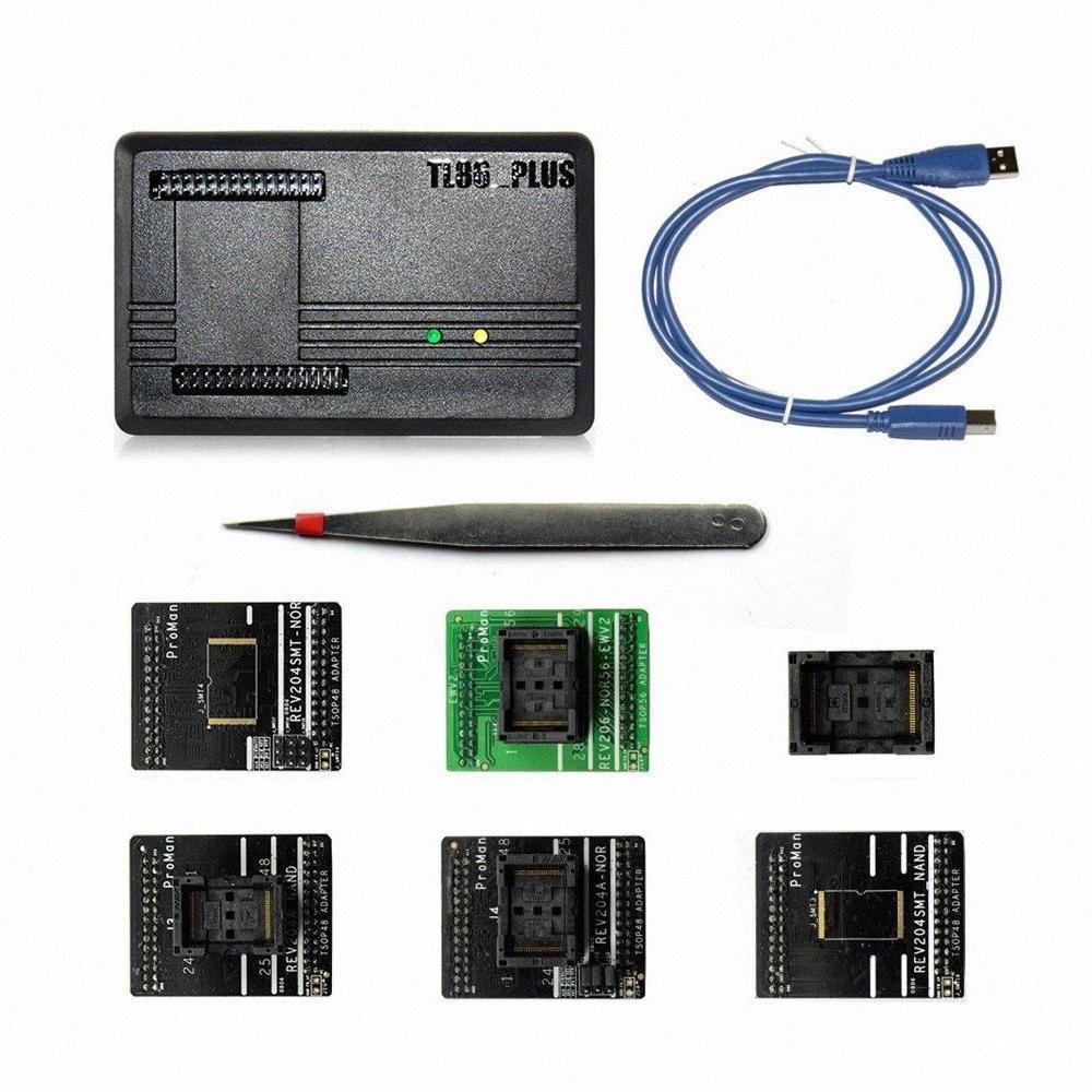 Adaptador BHTS-Proman programador profesional herramienta de reparación Tl86 Plus + programador TSOP48 + Adaptador TSOP56 Copia NAND chip de datos R newo #