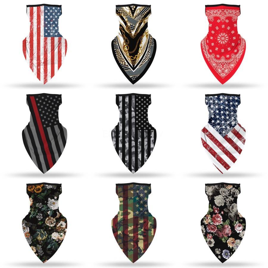 Новые маски Solid Color Велоспорт оголовье печати Открытый Face шарф свет дышащая мягкая магия головной убор # 834