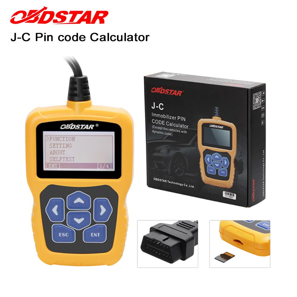 OBDSTAR J C PIN Code Calculator Immobilizer tool No token Limit for Audi/for Chrysler /for Hyundai /for Kia update online