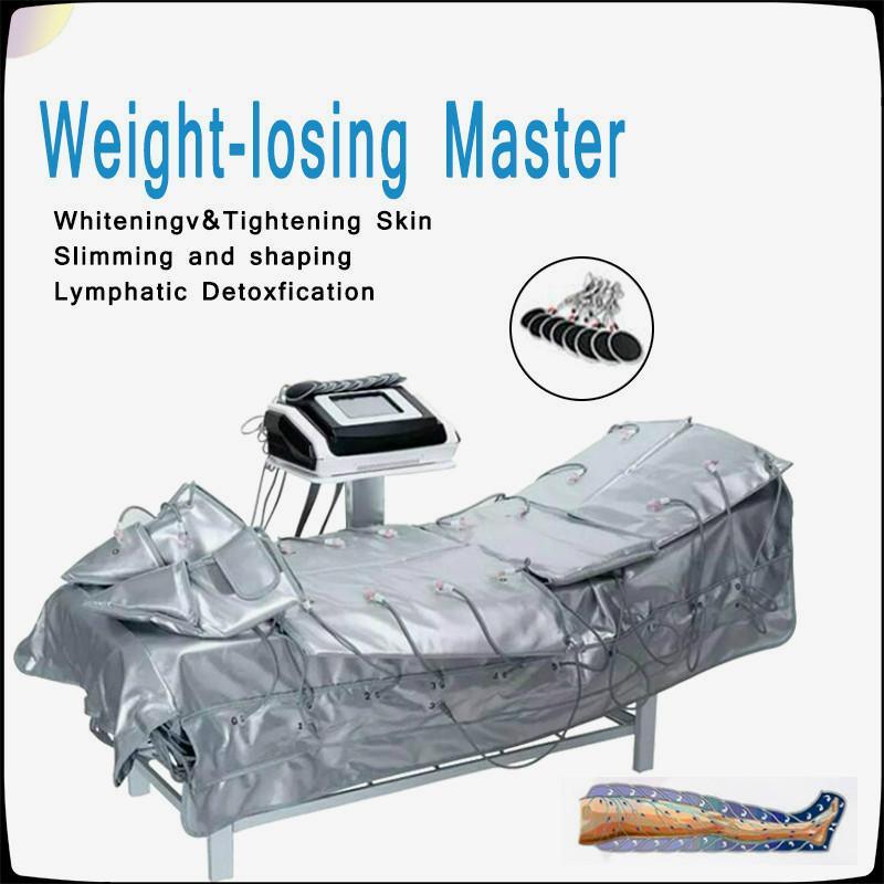 Vente chaude Pression d'air Minceur machine 3 en 1 infrarouge lointain Drainage lymphatique pressothérapie machine du corps entier Detox Minceur