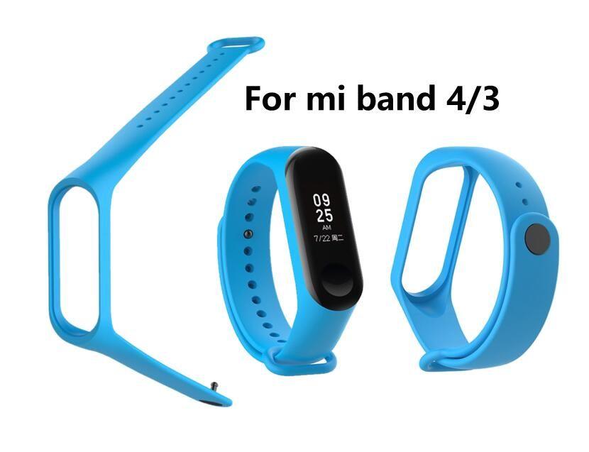 Wearable bande de poignet de remplacement pour Xiaomi MI Band 4 Pour Xiaomi Mi 3 Bracelets Bracelet Bracelet Ceinture intelligente dans Smart Band