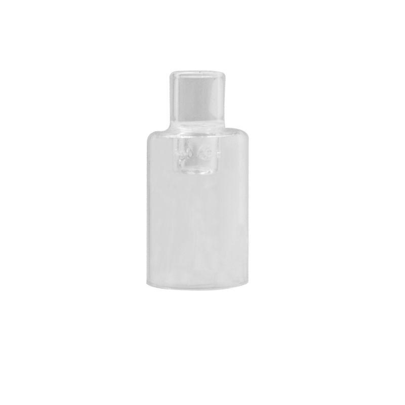 Pirex de vidro Bocal Cap adaptador da haste tube Para Longmada Mr.bald III Starter Kit Tanque Vape Atomizador Pen vaporizador E-cig