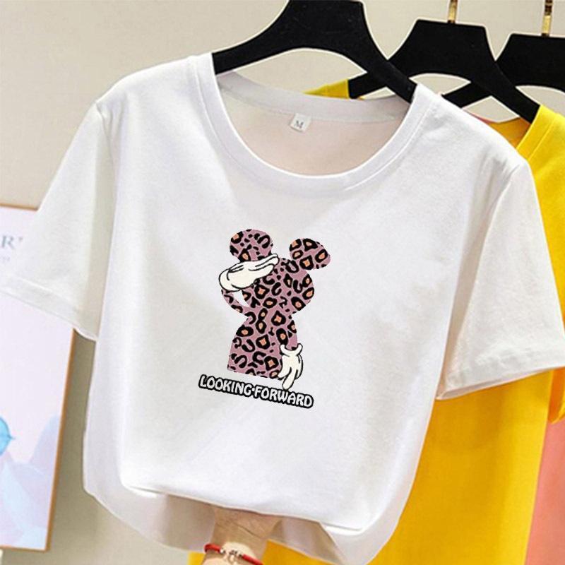 slaccia la camicia larga base di dimensioni 2020 Estate T- nuovo a maniche corte T-shirt casuale top studentessa donne coreane