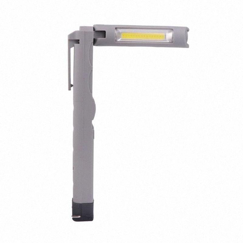 Rechargeable COB LED Slim Work Light Lamp Inspect Folding Torch Handheld Torch Work Lamp LXSu#