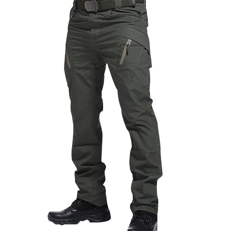 Pantalones IX9 Hombres Militar táctico al aire libre de carga de combate del Ejército de Swat pantalones de entrenamiento militar pantalones de los deportes de excursión la caza 200925