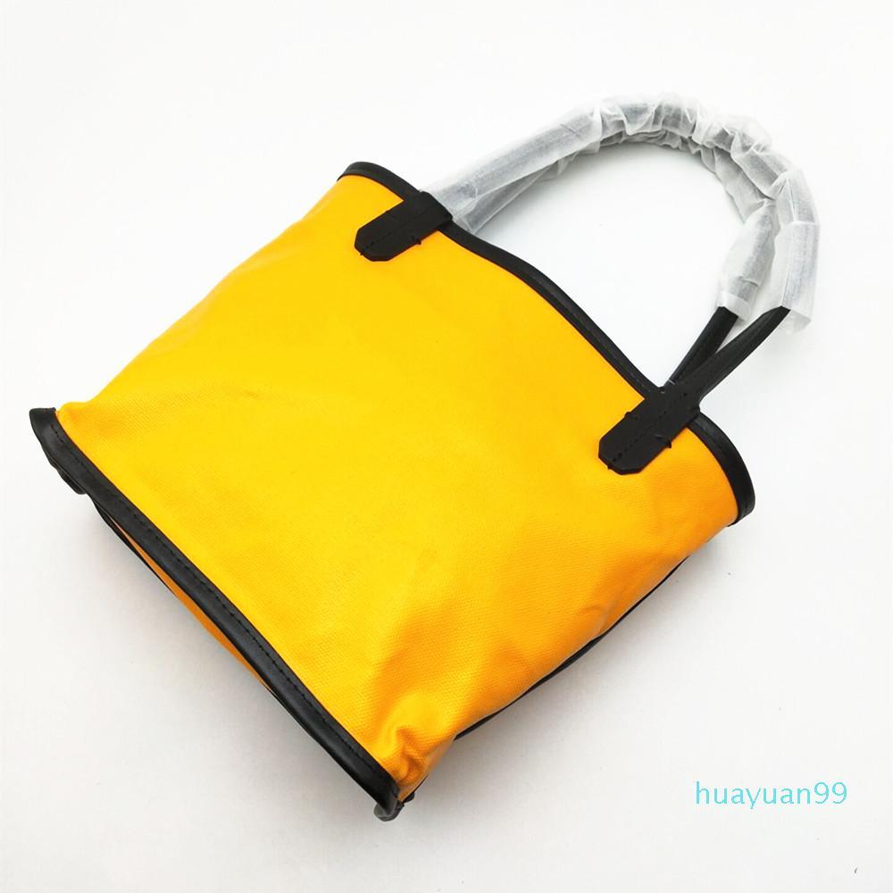 Bolsa de Nueva alta calidad señora de las mujeres del bolso de compras de la playa bolsas de mano monederos de cuero real de la lona con el asiento y la manija
