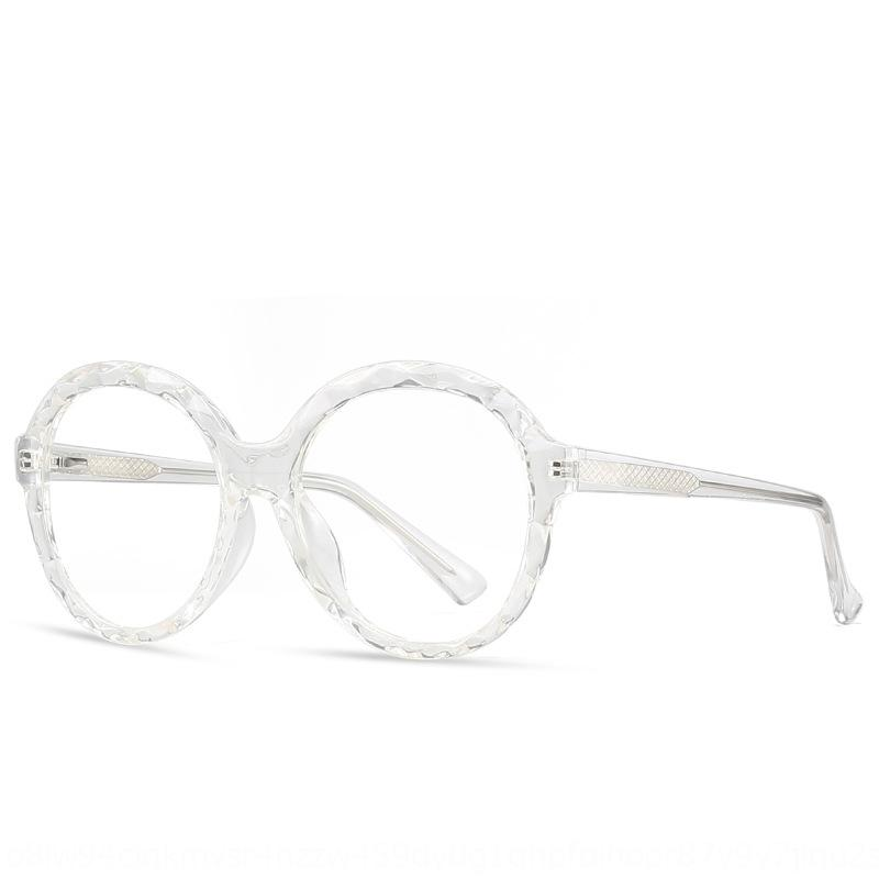 2020 personalità della moda TR90 piatto cornice rotonda faccia miopia femminile 2010 piatto Bicchieri Bicchieri