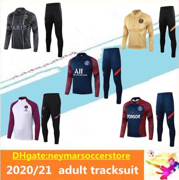 2020 2021 MBAPPE Survetement ФРАНЦИЯ обучение футбол костюм куртки 20 21 Париж бег трусцой Майо де футбол костюм равномерная chandal