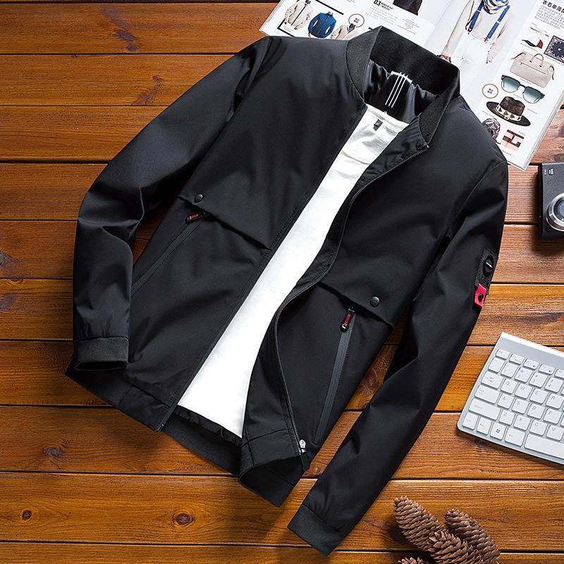 Coreano giacca 8rtj3 2019 primavera sottile basamento autunno colletto della giacca da uomo da uomo e tutto-fiammifero casuale 1909