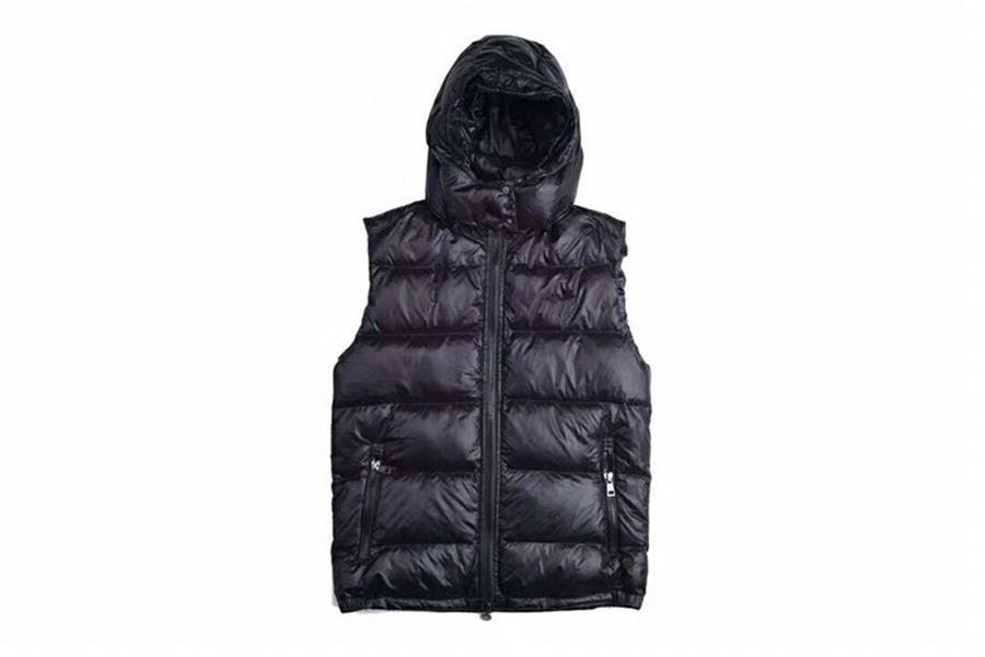 Moda França Marca Inverno Vest Jacket Mens Homme FreeStyle Vest jaqueta Canadá Gilet Down Vest baixo Jassen Expedition Parka Casacos