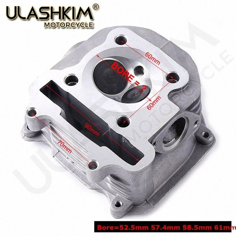 SCOOTER PARTS MOTORCYCLE PARTSGY6 125 150CC 157QMJ CYLINDER HEAD FOR GY6 SCOOTER MOPED GO KART ATV SUNL TAOTAO Bore 57.4mm 4HyW#