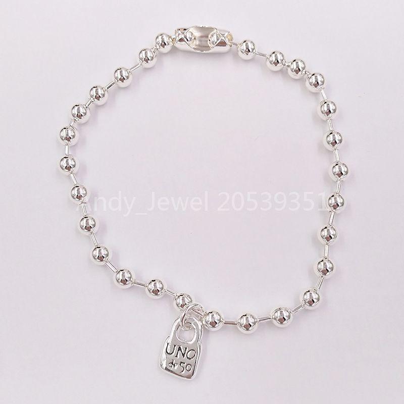 Authentic Bracelet Emotions Amicizia Braccialetti UNO DE 50 Plated Jewelry Adatti regalo in stile europeo PUL1829MTL0000M