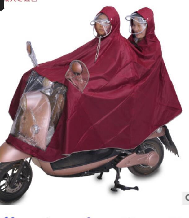 معطف واق من المطر دراجة نارية دراجة كهربائية للماء معطف واق من المطر المعطف ركوب سيارة واحدة للبطارية مزدوج المعطف سماكة