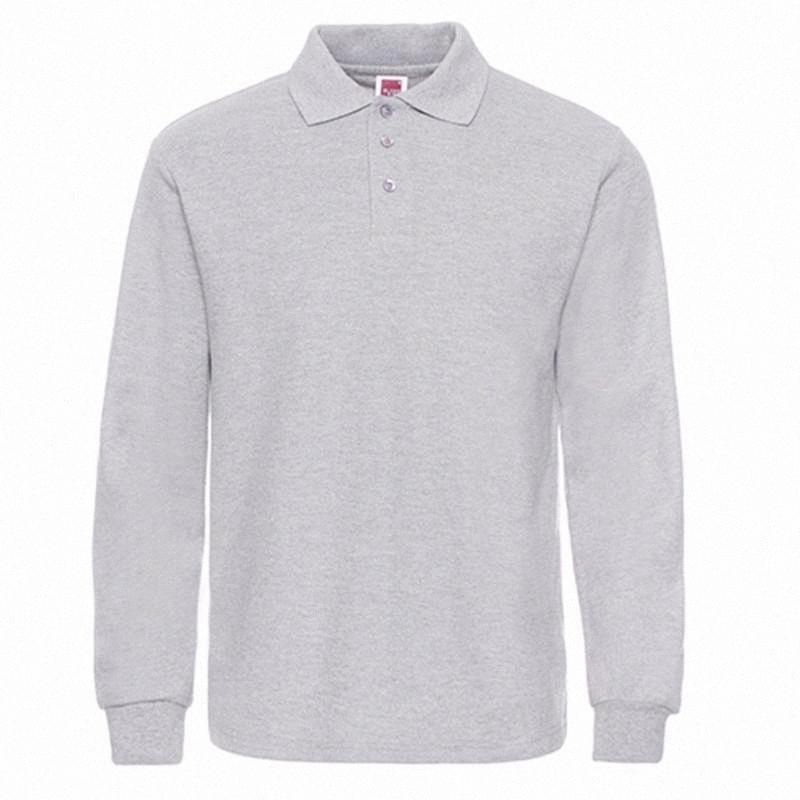Рубашки мужские рубашки мужчина с длинным рукавом мужчин вскользь хлопка Slim Fit Polos Мужчины Plus gGAc #