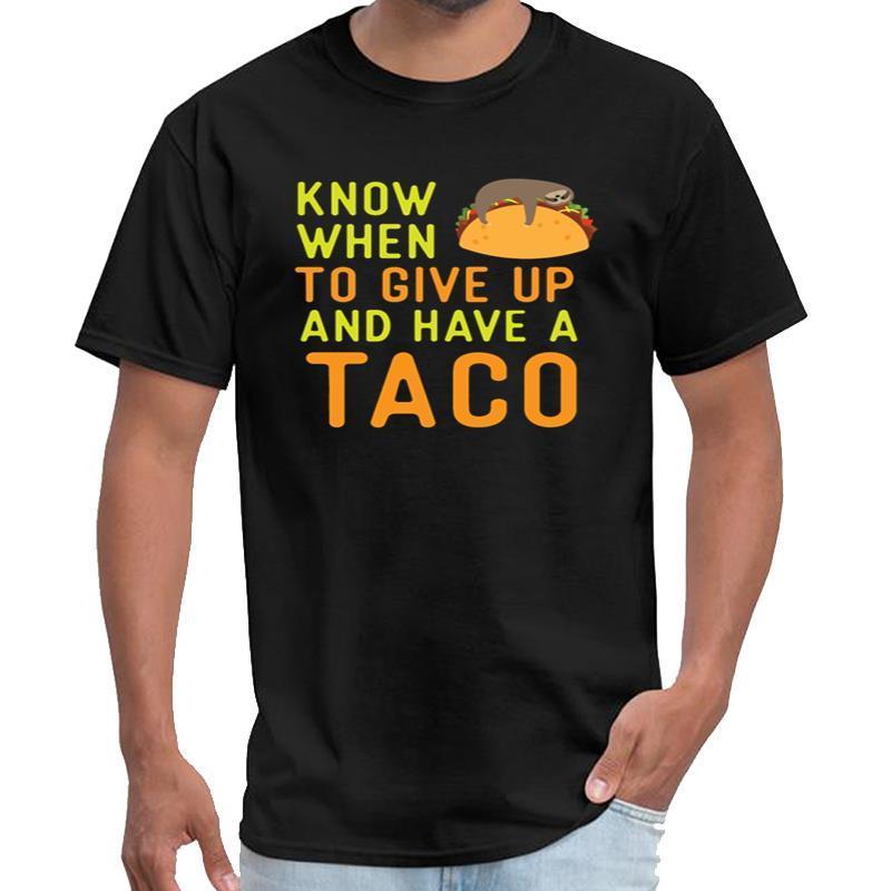 Designer Taco drôle Sloth Lazy T-shirt des hommes d'anime titanesque t-shirt XXXL 4XL 5XL top tee