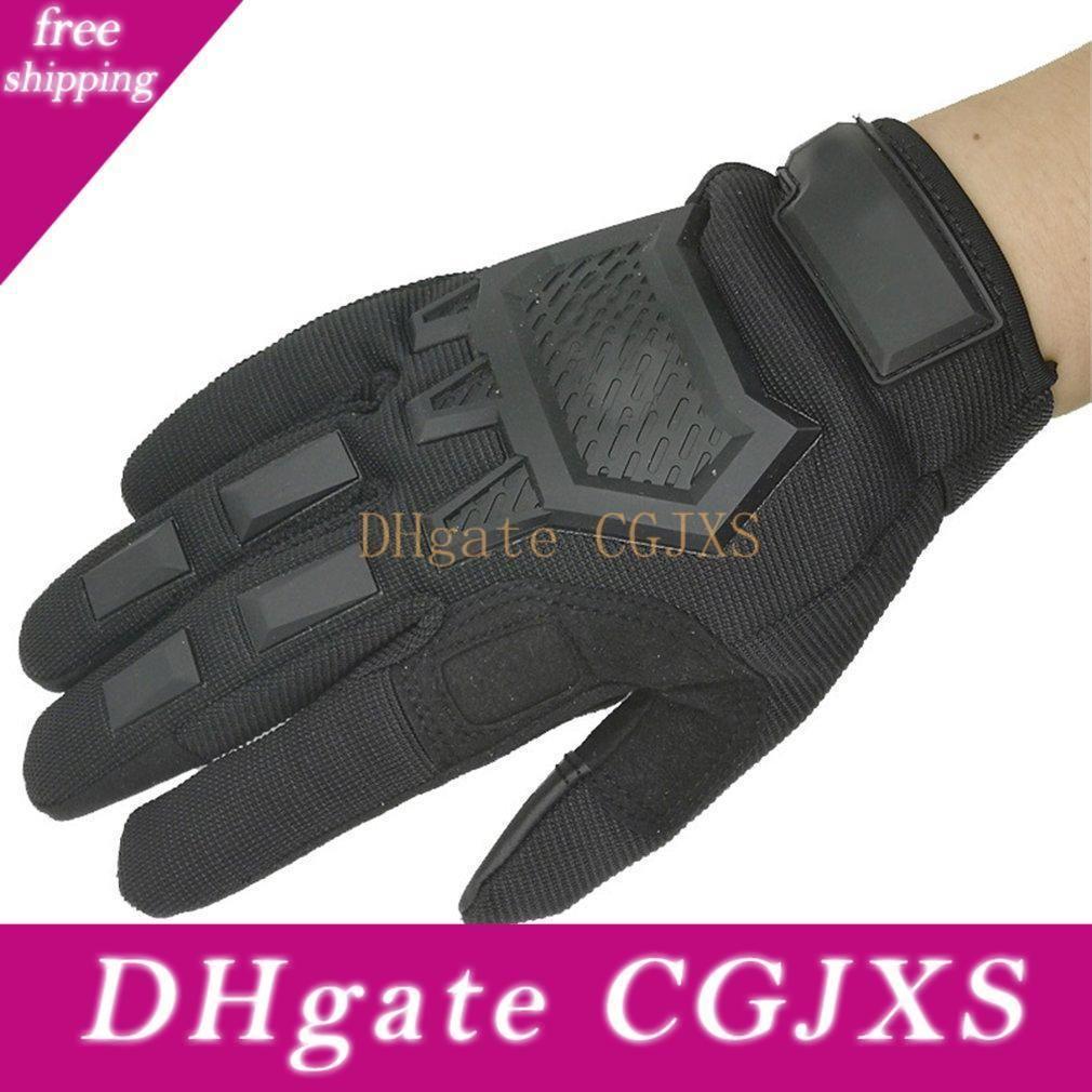 Guantes de la pantalla táctil guantes tácticos de Airsoft Paintball militares Fuerzas Armadas de los hombres antideslizante Senderismo bicicletas completas de dedo guantes de la gimnasia