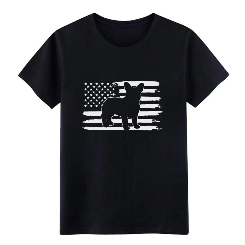 4 frenchie dos homens da camisa de julho t personalizado de manga curta O-Neck arrefecer aptidão Camisa formal Casual Primavera