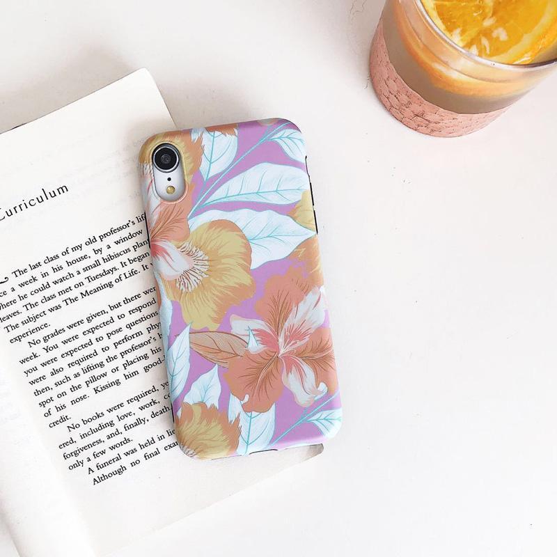 Cgjxs nuevo para Iphone X Funda del teléfono móvil Shell creativo pintado Iphone 678plus caja del teléfono de la cubierta protectora de fábrica Imd