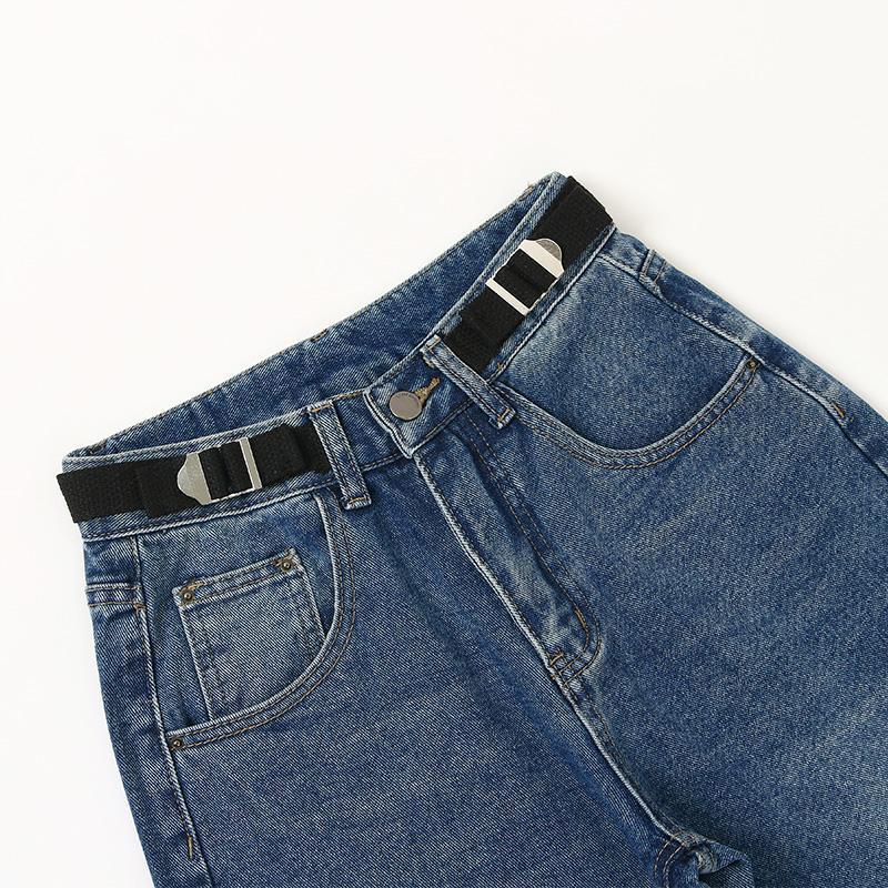 Fp6263 Denim novio pantalones de algodón engrosamiento mujeres ocasionales de invierno de la manera 2020new otoño pantalones rotos para ropa de mujer para mujer