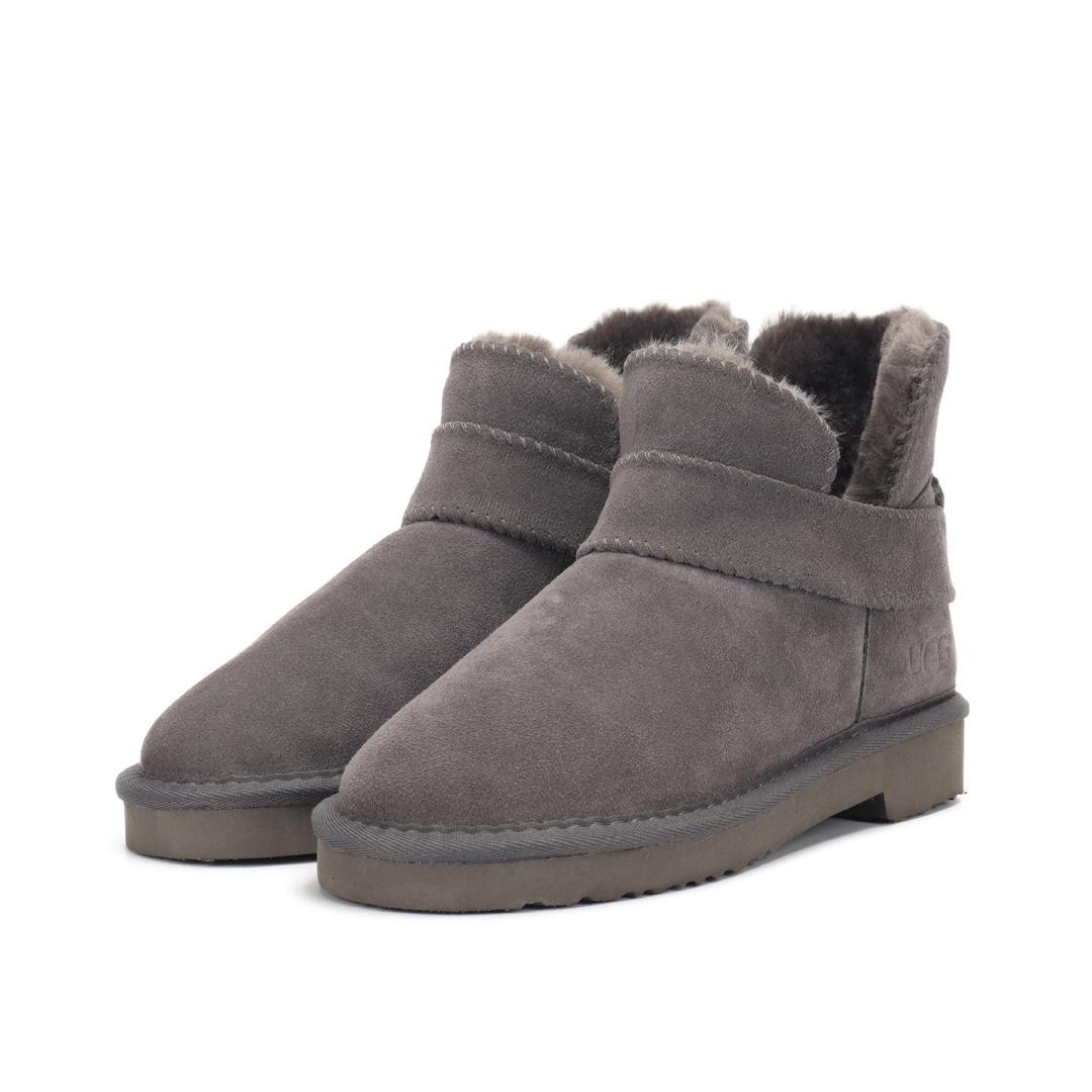 2020 des Winters der Männer der Frauen wasserdichten Outdoor-Stiefel Paar Leder hoch geschnitten warme Schneestiefel lässig Martin Stiefel