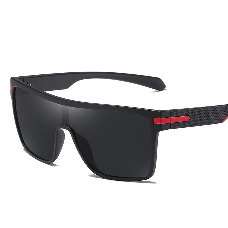 Blocco per grafici all'aperto Donne Uomini Polarized Moda quadrata Flessibile flessibile P0110 Guidare Occhiali da sole UV400 Occhiali da sole Goggle Maschi di grandi dimensioni QDMUP