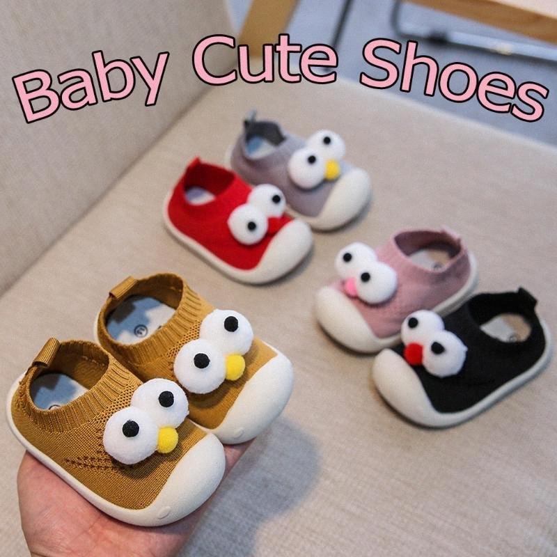 Criança Kid Baby First Walkers cute meninas dos desenhos animados meninos malha esporte sapatos Tênis infantil confortável e casual Deslizamento não Meninos Te 1udH #
