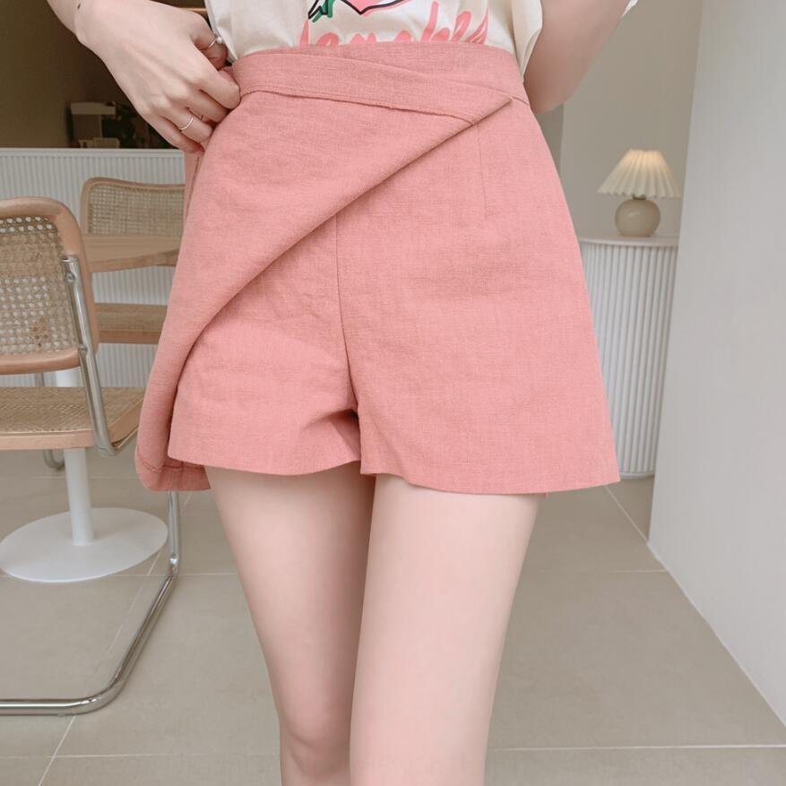 lIbM2 nfEg5 2020 Koreli yaz yeni tatlı Kısa Koreli kadın iki parçalı set tişört + kısa tişört tarzı etek etek moda olağan biçimde basılmış