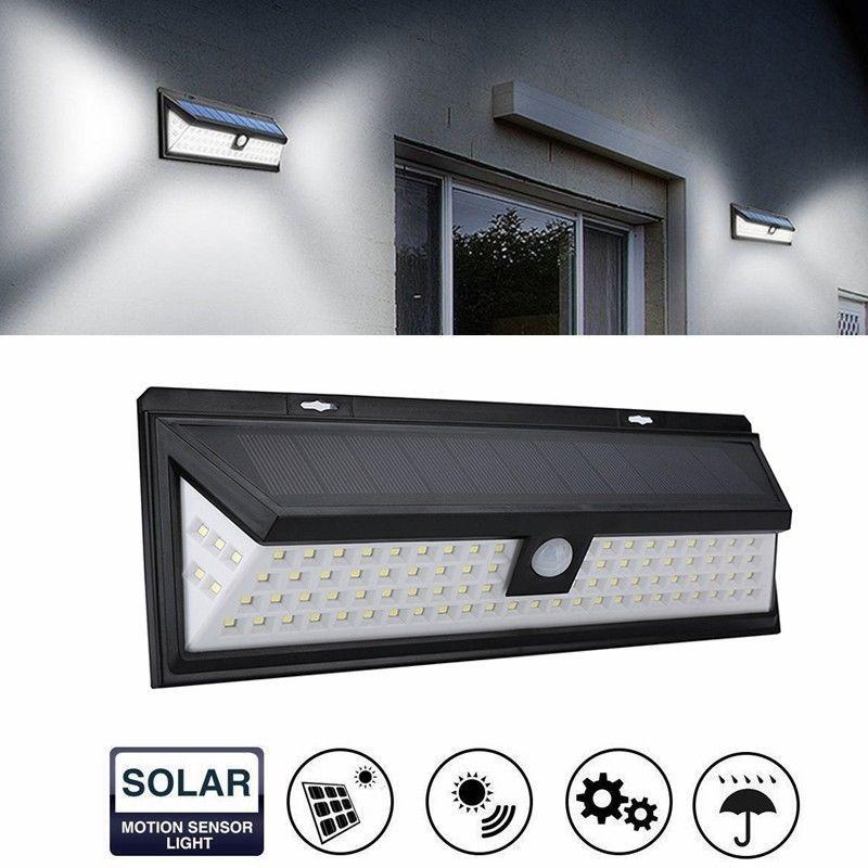 IP65 Waterproof 90 LED Solar Motion Sensor Wall Light Infrared Humano PIR Montado Lâmpada de parede de Segurança Decoração Luz para Jardim