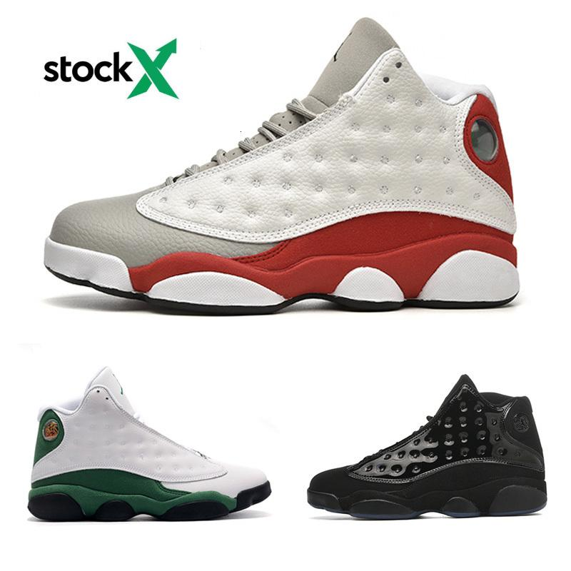 Novas 13s de chegada 13 Retro Ano Novo Chinês Cny 13 Flint reverso Ele obteve o jogo Bred Ilha Green Men Womens Basketball Shoes Atacado Drop Ship