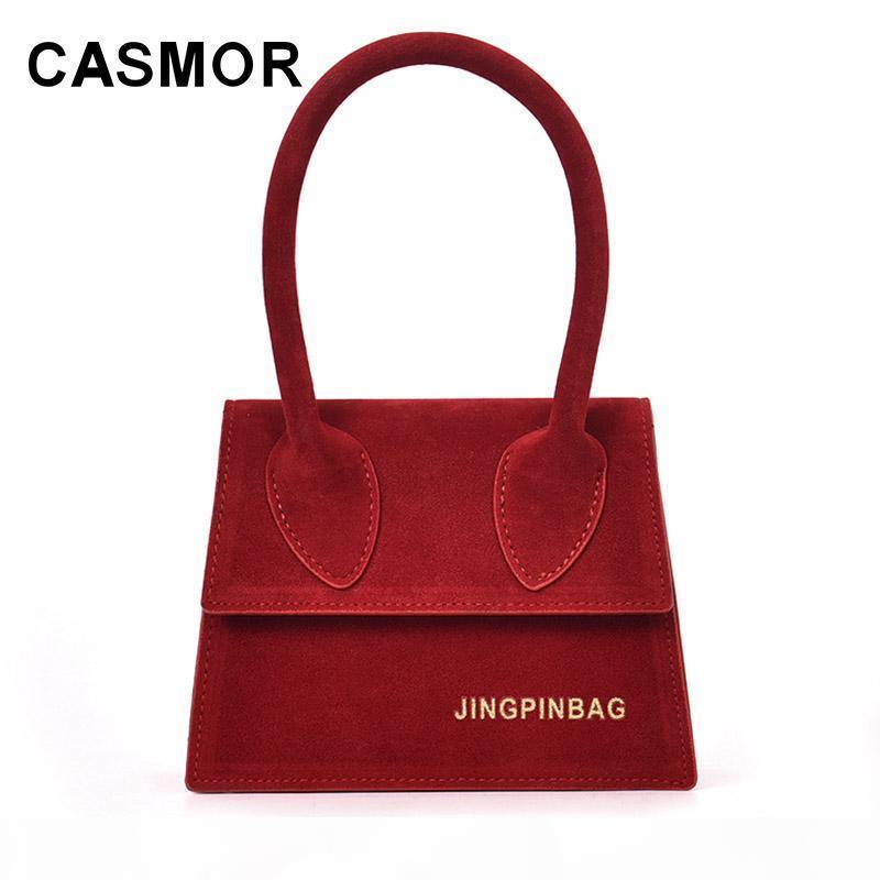 CASMOR mini manera bolsos de las señoras bolsos de 2018 mujeres de la venta caliente Ins bolsa de hombro de las señoras bolsos pequeños Mujer