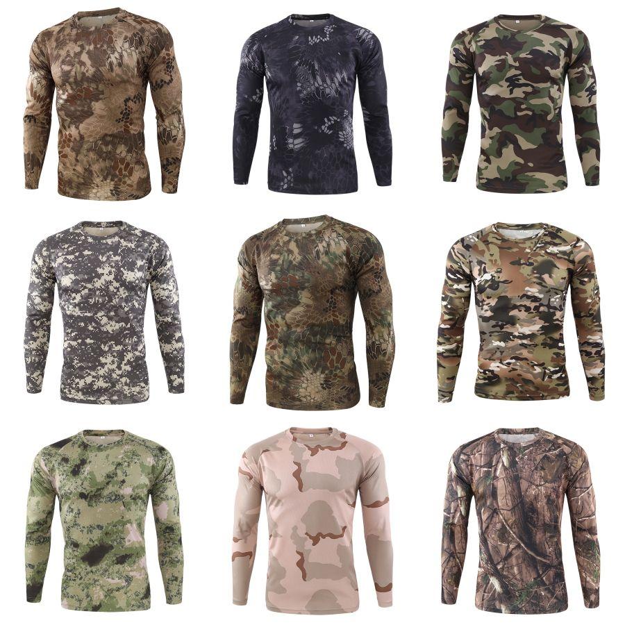 Ronde mince cou T-shirt des hommes Printemps Designer Casual T-shirt à manches longues de grande taille # 834